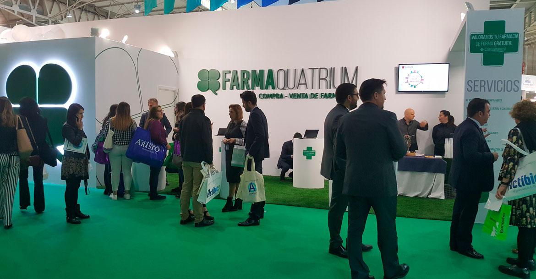 Farmaquatrium avanza en INFARMA 2017 su apuesta de expansión en Cataluña