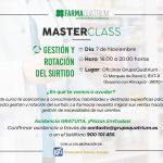 FARMAQUATRIUM TE INVITA A SU TERCERA MASTER CLASS EN MADRID