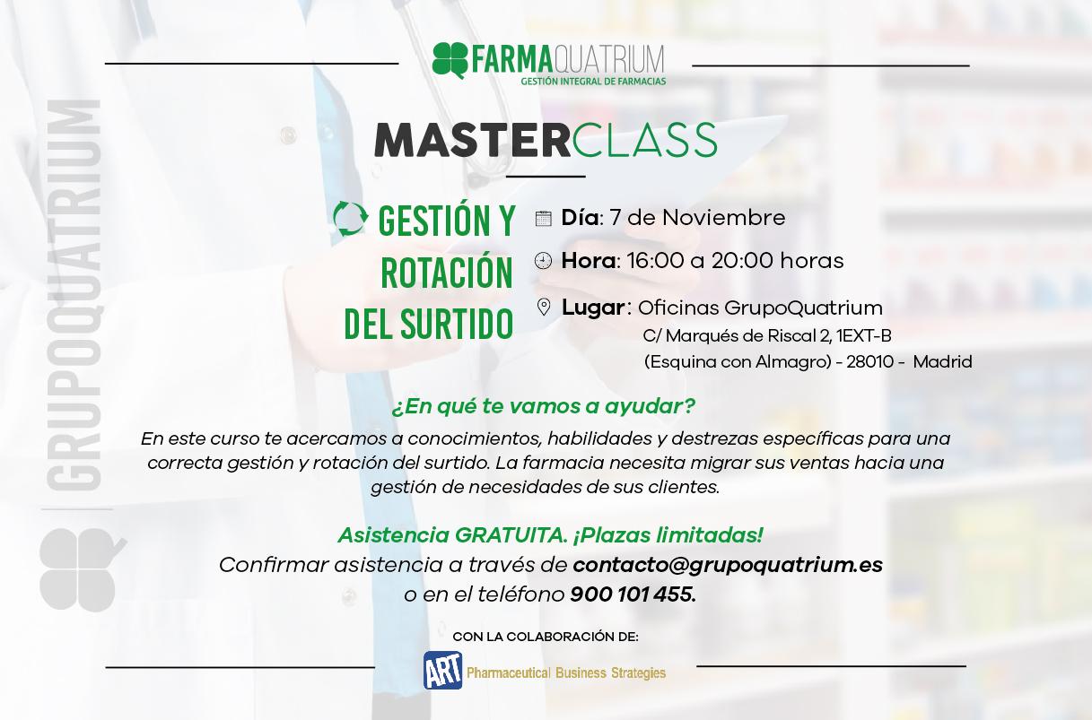 MasterClass gestión y rotación del surtido