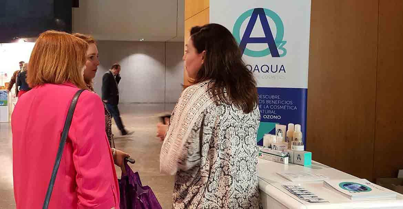 OZOAQUA PRESENTA SU GAMA DE COSMÉTICA NATURAL DE OZONO