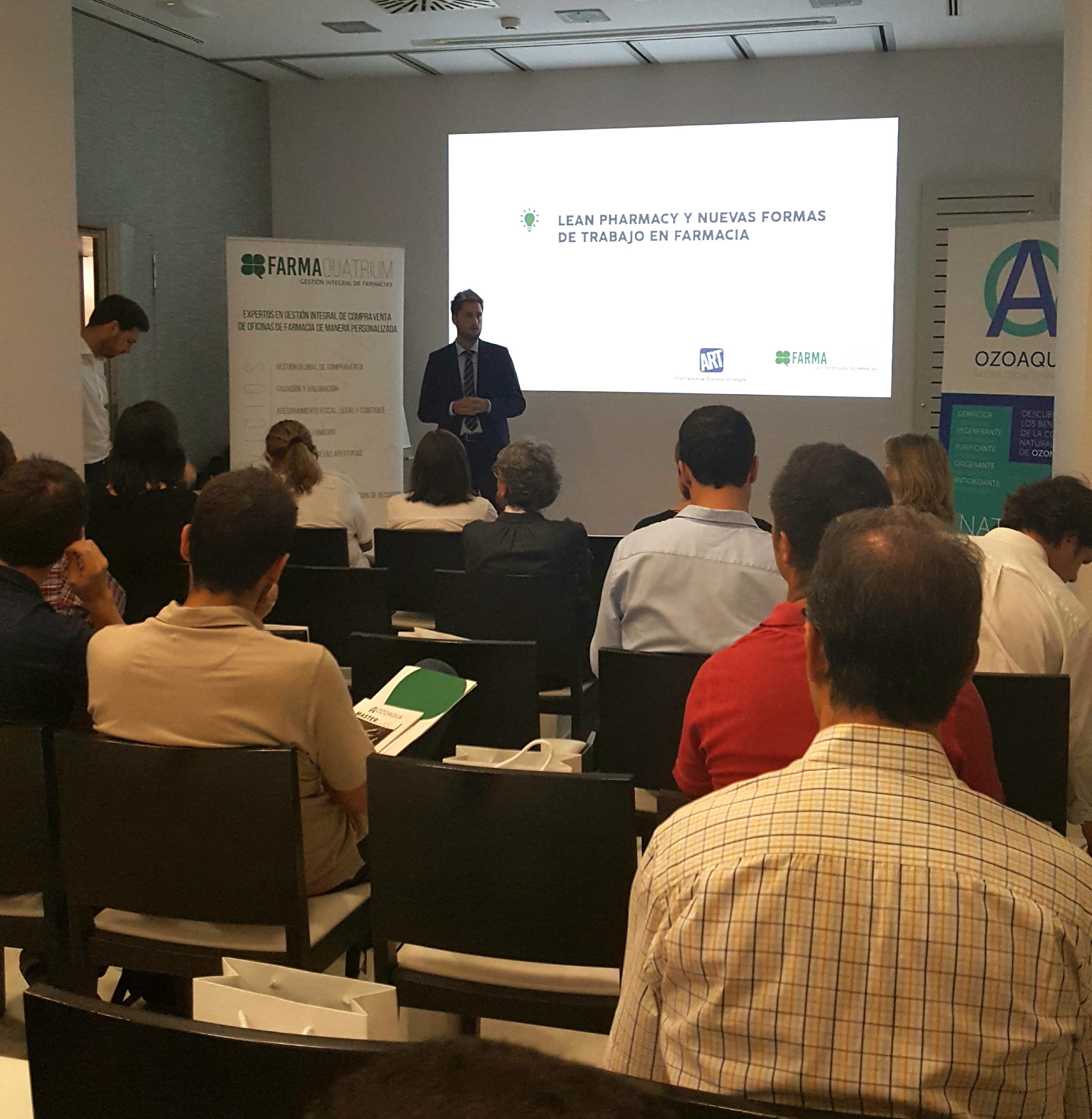 Masterclass de farmaquatrium en barcelona sobre los for Trabajo de interna en barcelona