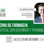 Nuevo encuentro online FarmaQuatrium: Transmisión de la oficina de farmacia